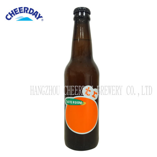 330ml 5.2%Vol Hops Orange Furit Craft Beer in Brown Bottle pictures & photos