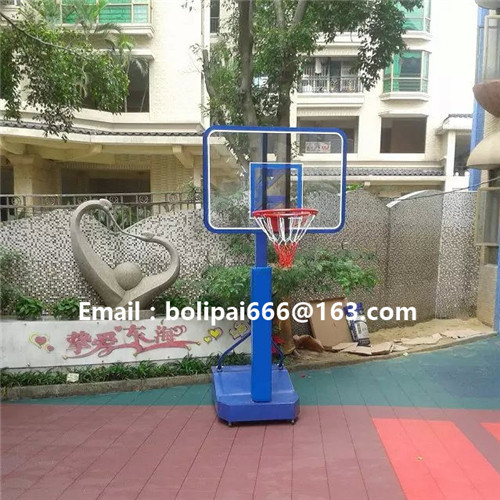 Mini Tempered Glass Basketball Backboard for Kids (BL-b-006) pictures & photos