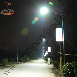 IP68 5m 18W LED Solar Street Light (DZS-05-18W) pictures & photos