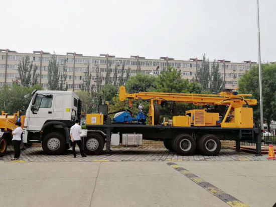 6097483f87 Factory Direct Price 300m Deep Mobile Truck Mounted Borehole Water Well  Drilling Rig Machine Equipment for Agriculture