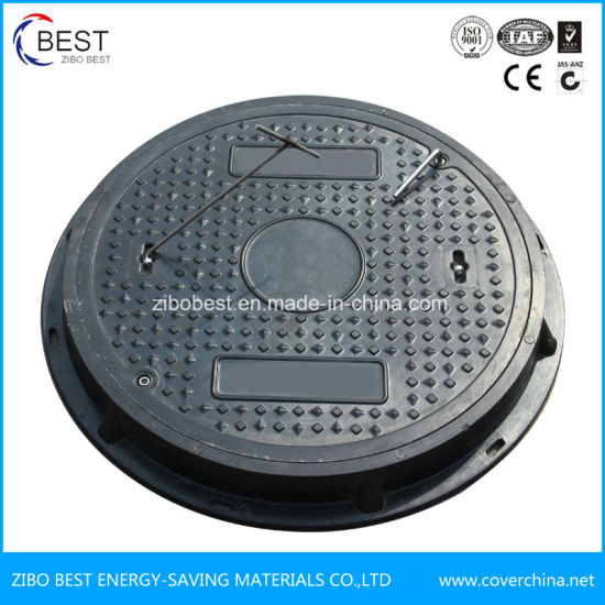 Fireproof Petrol Station Composite Manhole Cover pictures & photos