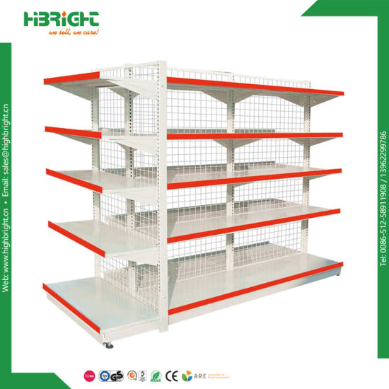 Nice Design Island Supermarket Shelf Gondola Rack pictures & photos