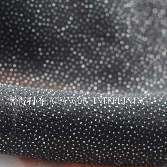 30d Water Jet Woven Fusible Interlining