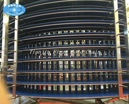 Food Grand Spiral Cooling Tower Conveyor pictures & photos