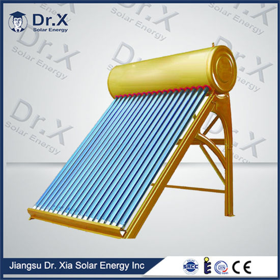 2016 Best Price Intergrated Solar Water Heater Evacuated Tube Collector pictures & photos