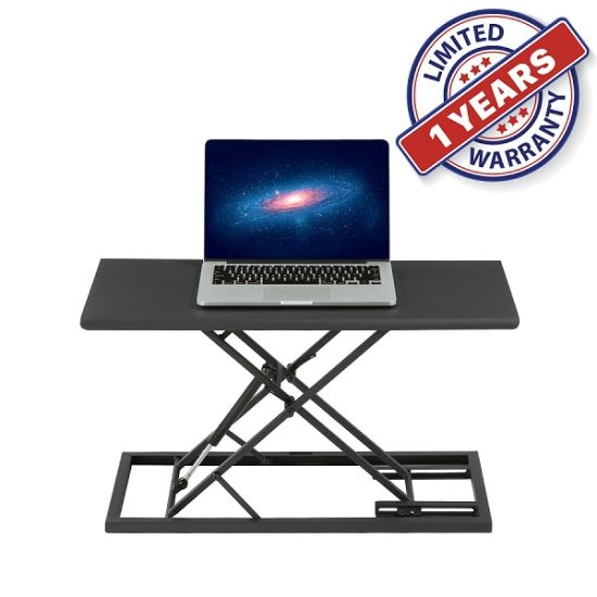 Light Weight Portable Adjustable Height Work Station Carry on Laptop Mobile Standing Desk for Office Home (TSD-2)