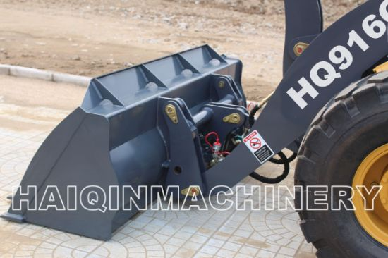 New Design Articulated 1.6ton Wheel Loader (HQ916G) with Ce pictures & photos
