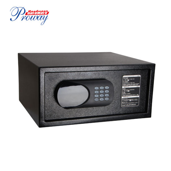 Hot Sale Digital Laptop Hotel Safe Box with LCD Display Background Light