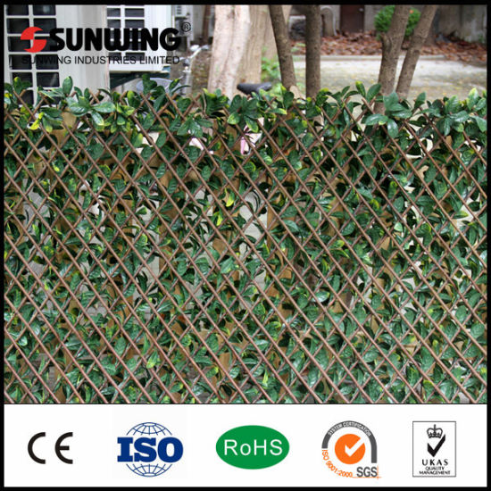 decorative garden fences. Decorative Garden Fencing Cheap Outdoor Artificial Leaves Plant China