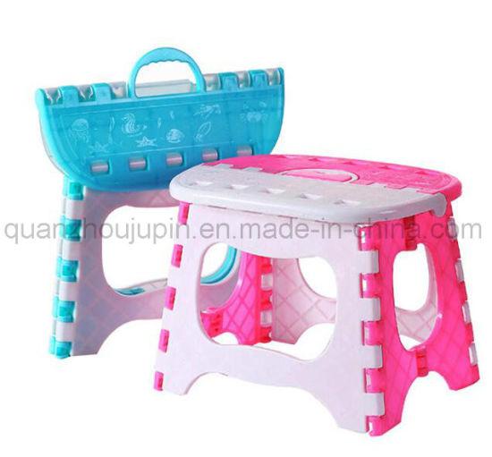 OEM High Quality Plastic Folding Handle Chair