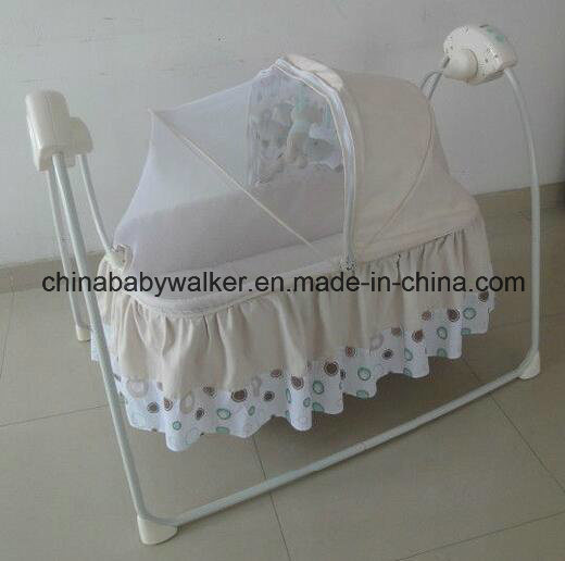 2in1 Baby Playpen Cot Bed Swing with MP3 Function