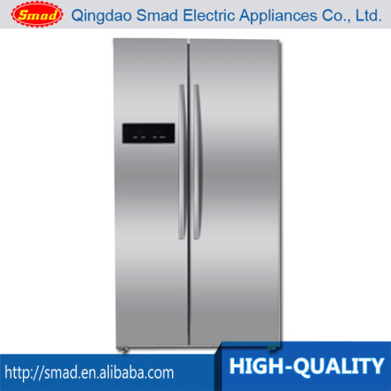 A+ Home Use Side By Side No Frost Refrigerator With Water Dispenser And Ice  Box
