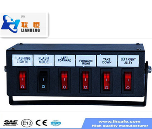 Switch Box of Warning Light Bar, Controller Box for LED Warning Lights Kzq-006-1 pictures & photos