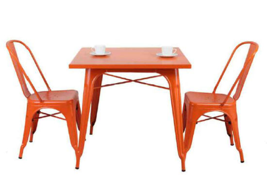 Restaurant Tolix Marais Table And Chair Dining Furniture