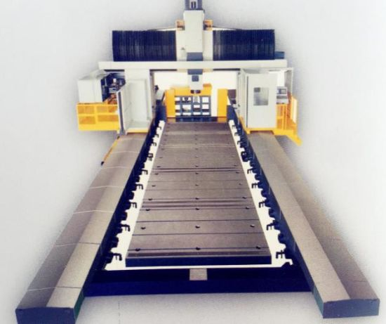 for Car Mould Two Linear Guideways One Box Guideway CNC Gantry Machine (DL1220) pictures & photos