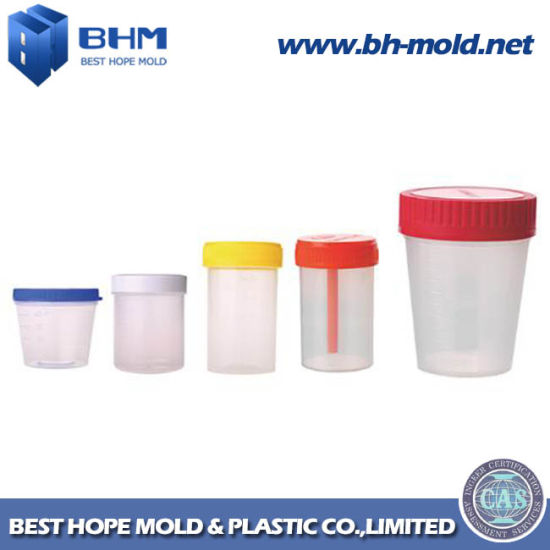 Hospital&Laboratory Disposable Plastic Urine Container 60ml, Urine Collection Container pictures & photos