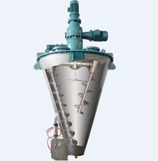 Conical Double Screw Vertical Mixer pictures & photos