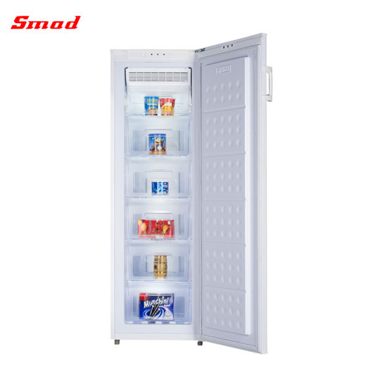 Smad Wholesales Price 220V 185L Home Style Upright Freezer