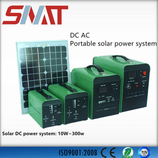 Portable AC Solar Power System for Remote or Pasture Area