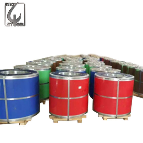 China Ral3025 PPGI 0 25mm Thickness Galvanized Steel Coil