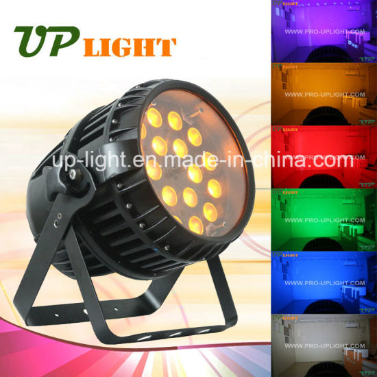 Zoom 18X12W Waterproof 6in1 Outdoor LED PAR Light pictures & photos