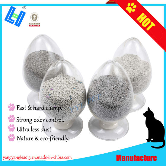Pet Product: OEM Hot Sell Hard Clump Bentonite Cat Litter