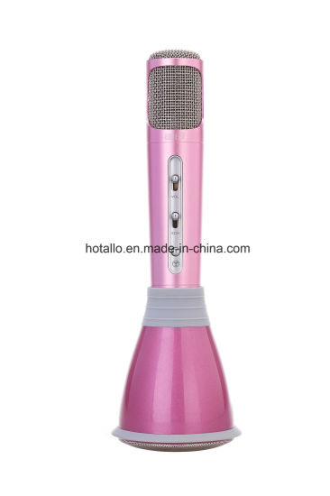 New Arrival Pink Portable Mini Karaoke Player pictures & photos