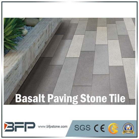 Natural Black Basalt Stone Pavement/ Cubes/Blind/Paver Stone/Paving Stone pictures & photos