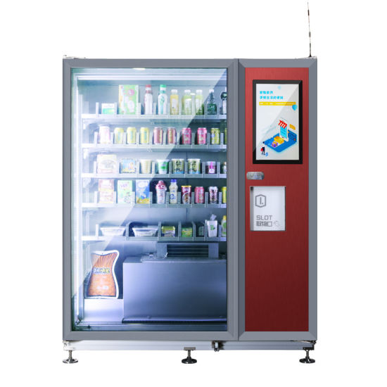 High Quality Commercial Aluminium Self Automatic Combo Vending Machine20