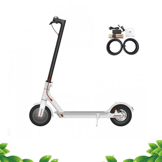 2 Wheel 48V 350W Foldable Electric Scooter with LED Light and Bell pictures & photos