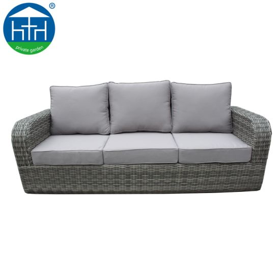 Artificial Rattan Wicker Sectional