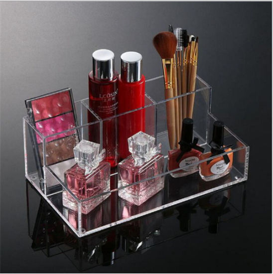 2 Tier Makeup Brush Holder Makeup Office Organizer Brush Holder
