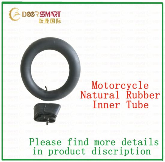Long Service Life Natural & Butyl Rubber Motorcycle Inner Tube of All Sizes