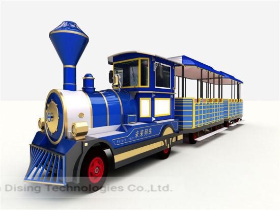 Customized 42 Seats Electric Tourist Train Sightseeing-You Can't Miss