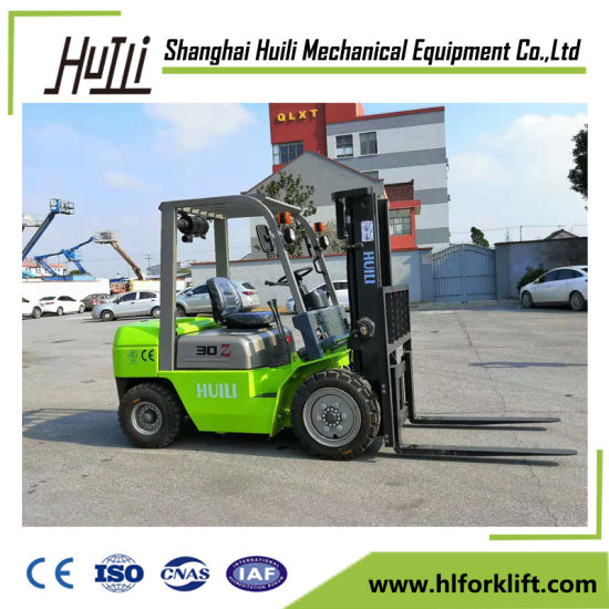 Well Performance 3 Ton Forklift with 2-Stage at Desperate Price