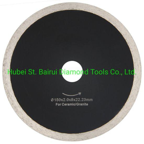 105mm 115mm 125mm 180mm 230mm Continuous Turbo Granite Marble Porcelain Tile Dekton Concrete Asphalt Cutting Turbo Diamond Saw Blade