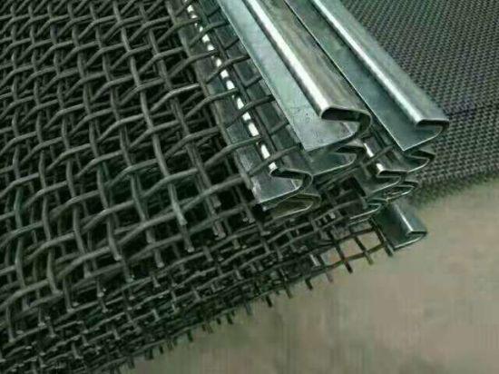 Metal/Ss/65 Mn Woven Crimped Wire Vibrating Screen Mesh for Vibrating Stone /Gold Ore/ Coal Mine /Copper Mine