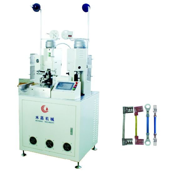 Hc-20 High Tech Automatic Double Ends Terminal Crimping Machine 2.0 Double End Terminal Crimping Cut Strip and Crimp Device