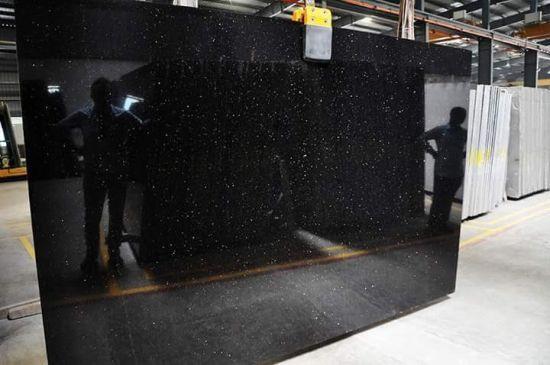 Hot Selling Star Black Galaxy Granite Tiles and Slab at Low Price