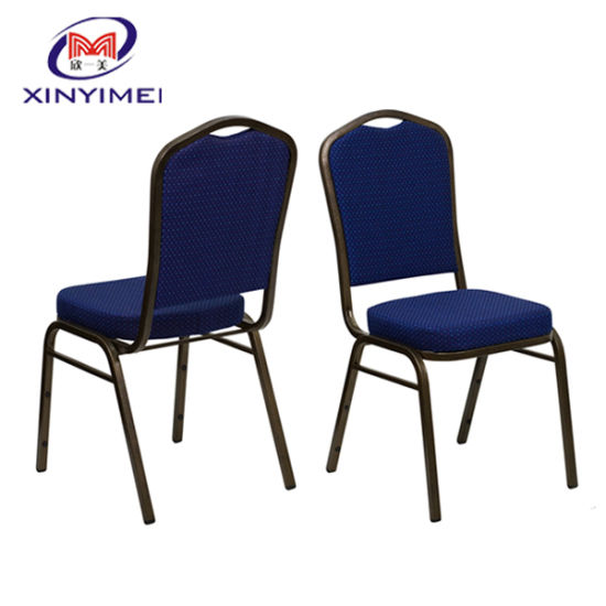 Hotel Design Nice Dining Room Furniture Stackable Aluminum Chair