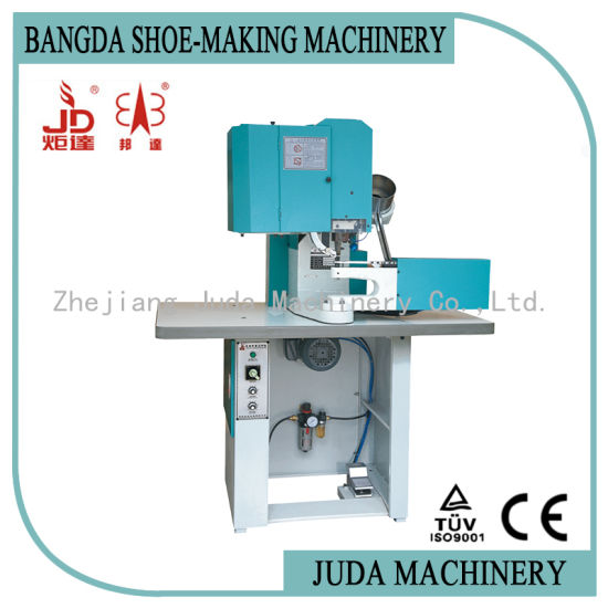 Automatic Shoe D-Ring Buckle Riveting Machine Army Boots Making Machine