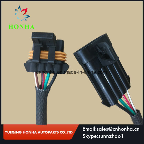 GM Ls Ls6 Coil Pack 4 Pin Female Delphi Electrical Connectors Oxygen Sensor  Connector Housing 121621444 Way Male and Female Connector Wire Harness
