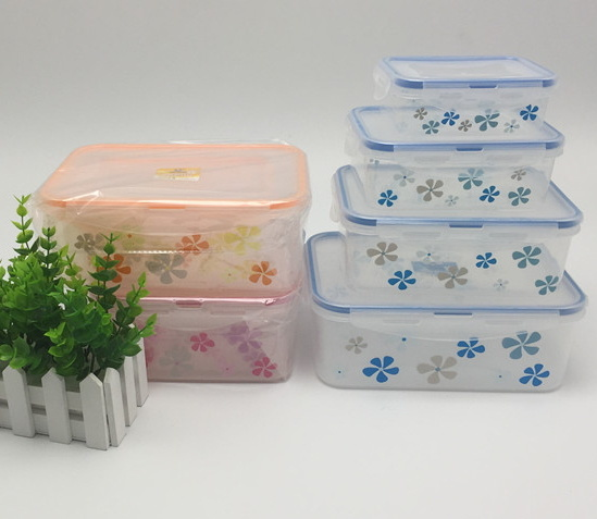 China Airtight Plastic Storage Containers Perfect For Food Storage