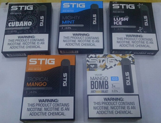 Wholesale Prices of Disposable Pod Device for Original Vgod Stig pictures & photos