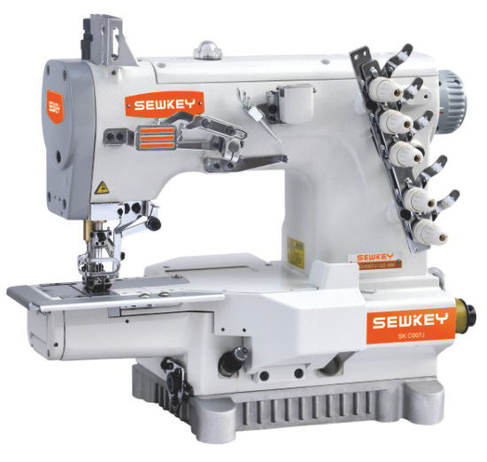 Sk-C007j Super High-Speed Interlock Sewing Machine