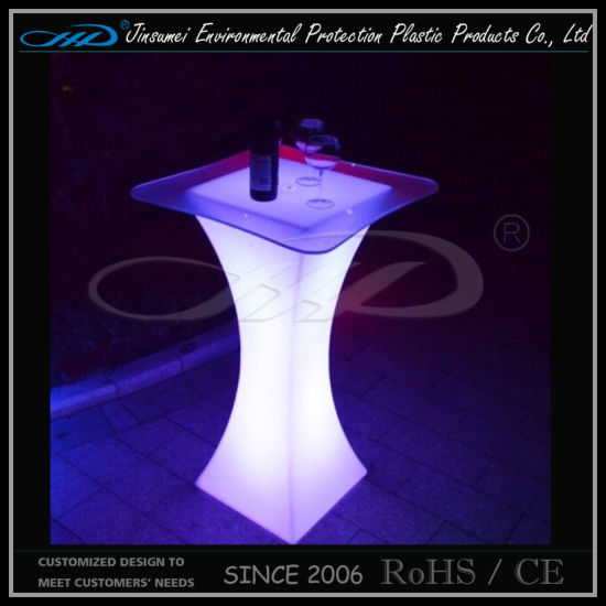 Factory Ce RoHS Certification LED Illuminated Light Furniture