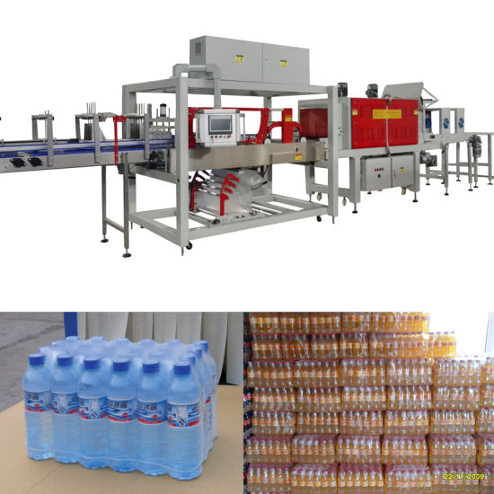 Bottled Canned Carton Beverage Usage and Accept Custom Order Heat Shrink Film Sleeve Sealing Packaging Packing Machinery Machine