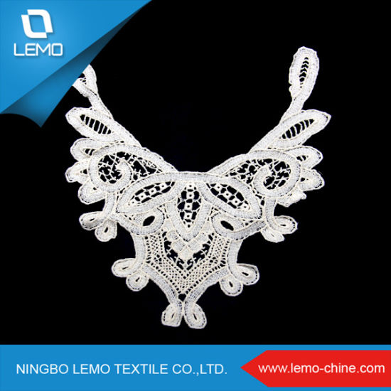 Cotton Embroidery Collar Lace as Garment Accessory