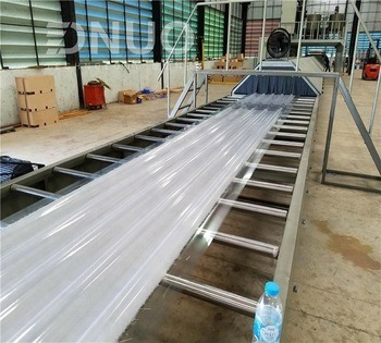 Construction Use FRP Roofing Sheet Making Machine Factory Price