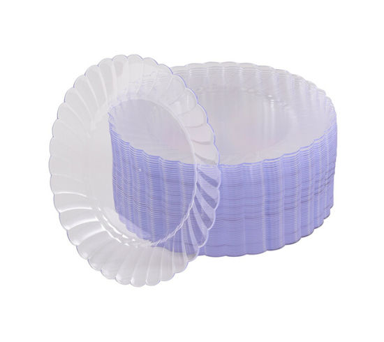 Premium Hard Clear Plastic Plates - 6 /7 /9 /10  Clear Round Disposable Plates  sc 1 st  Shuangtong Daily Necessities Co. Ltd. YW & China Premium Hard Clear Plastic Plates - 6
